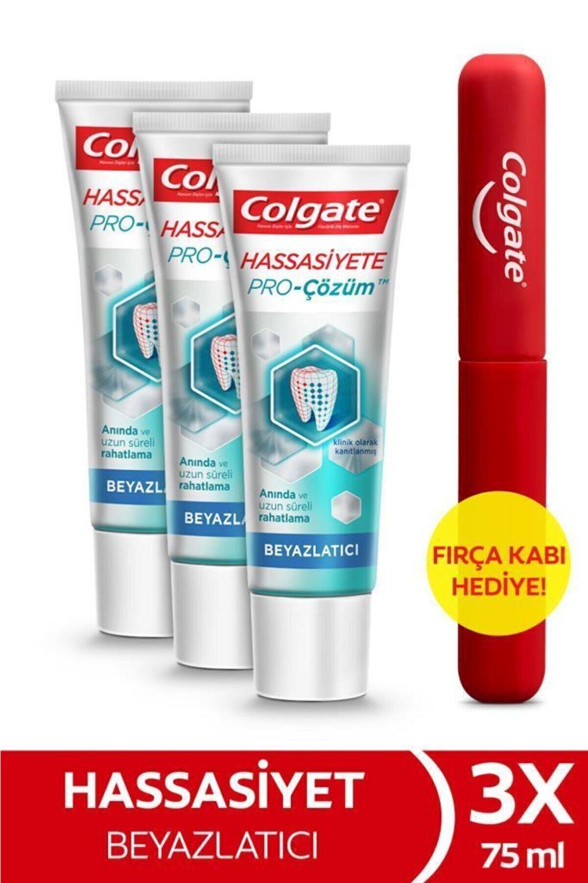 Colgate Hassasiyete Pro Çözüm Beyazlatıcı Sensitive Sensitive Pro Relief Diş Macunu 75 Ml X 3 Adet +