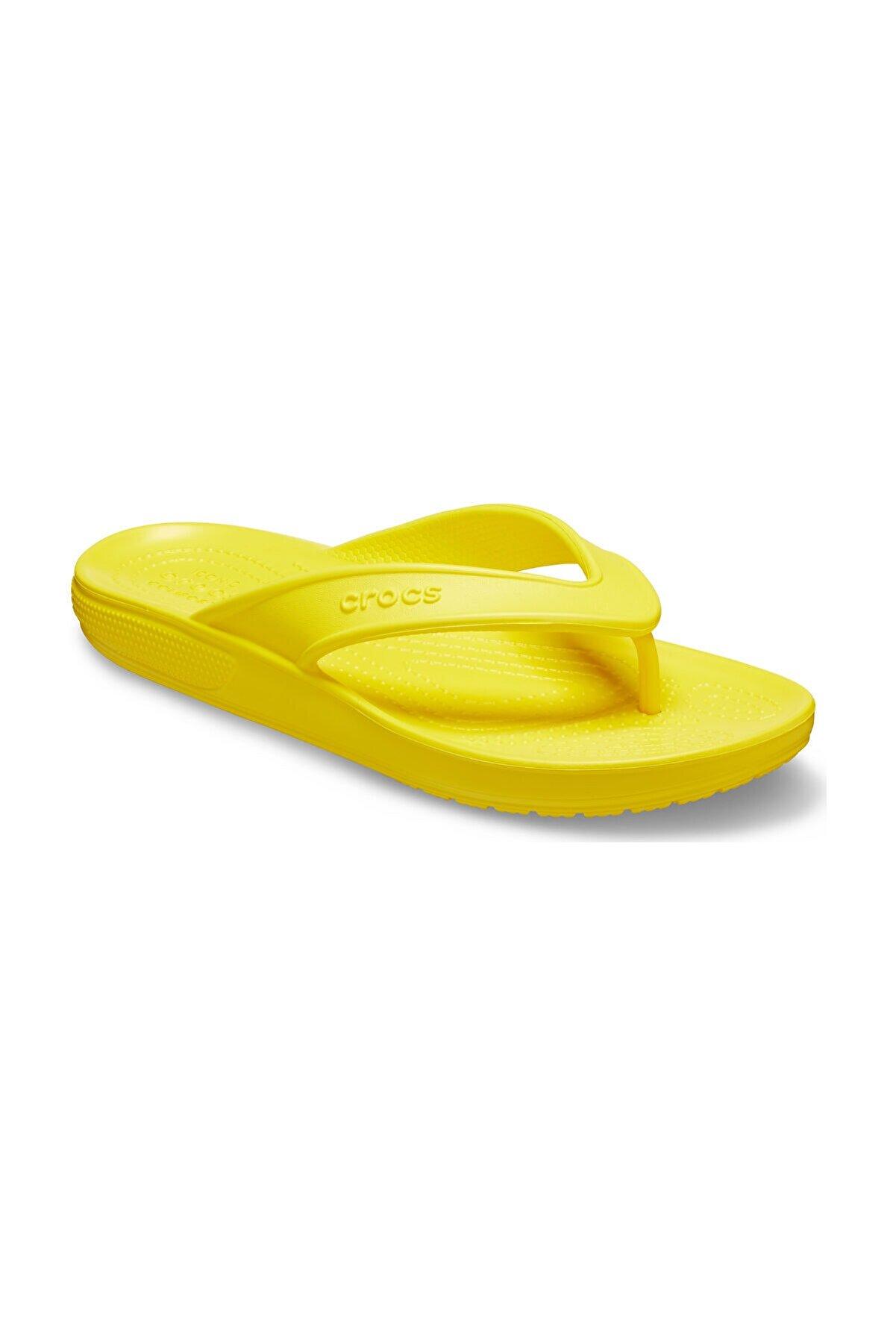 Crocs Sarı Kadın Classic II Flip Terlik