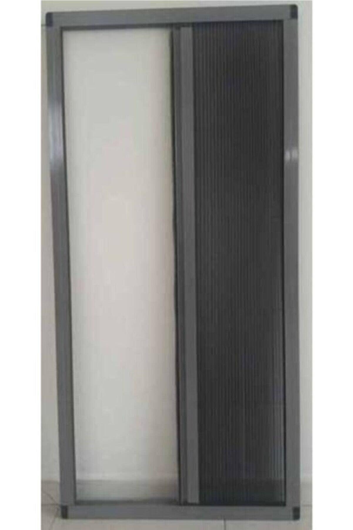 KARABEYOĞULLARI Gri Plise Sineklik Akordiyon Sürgülü Pileli Sineklik Kapı ve Pencere 40-60x80-100