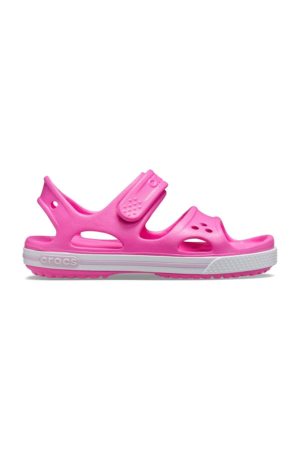 Crocs Crocband II Sandal PS Pembe Çocuk Terlik Sandalet