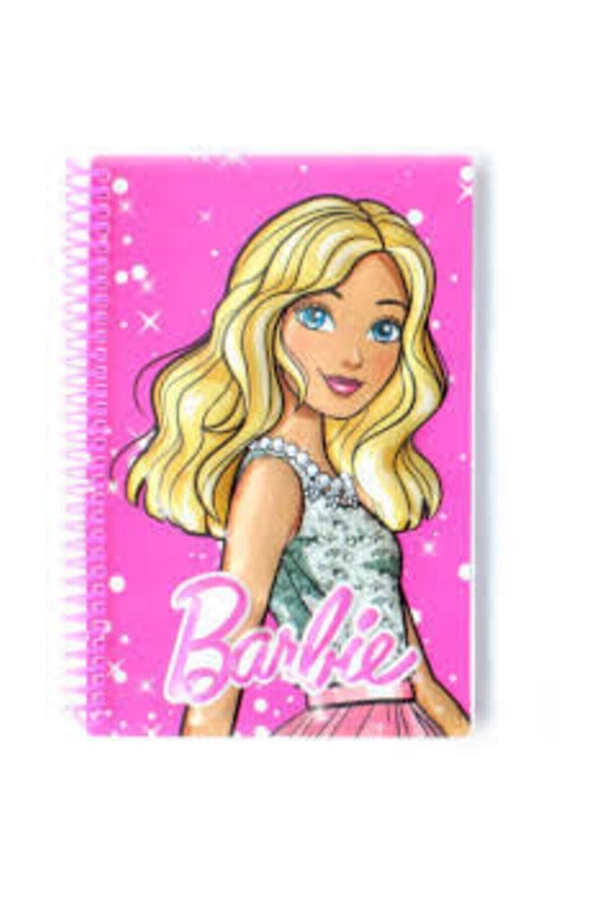 Dolphin Barbie Kabartmalı Spiralli A5 Not Defteri