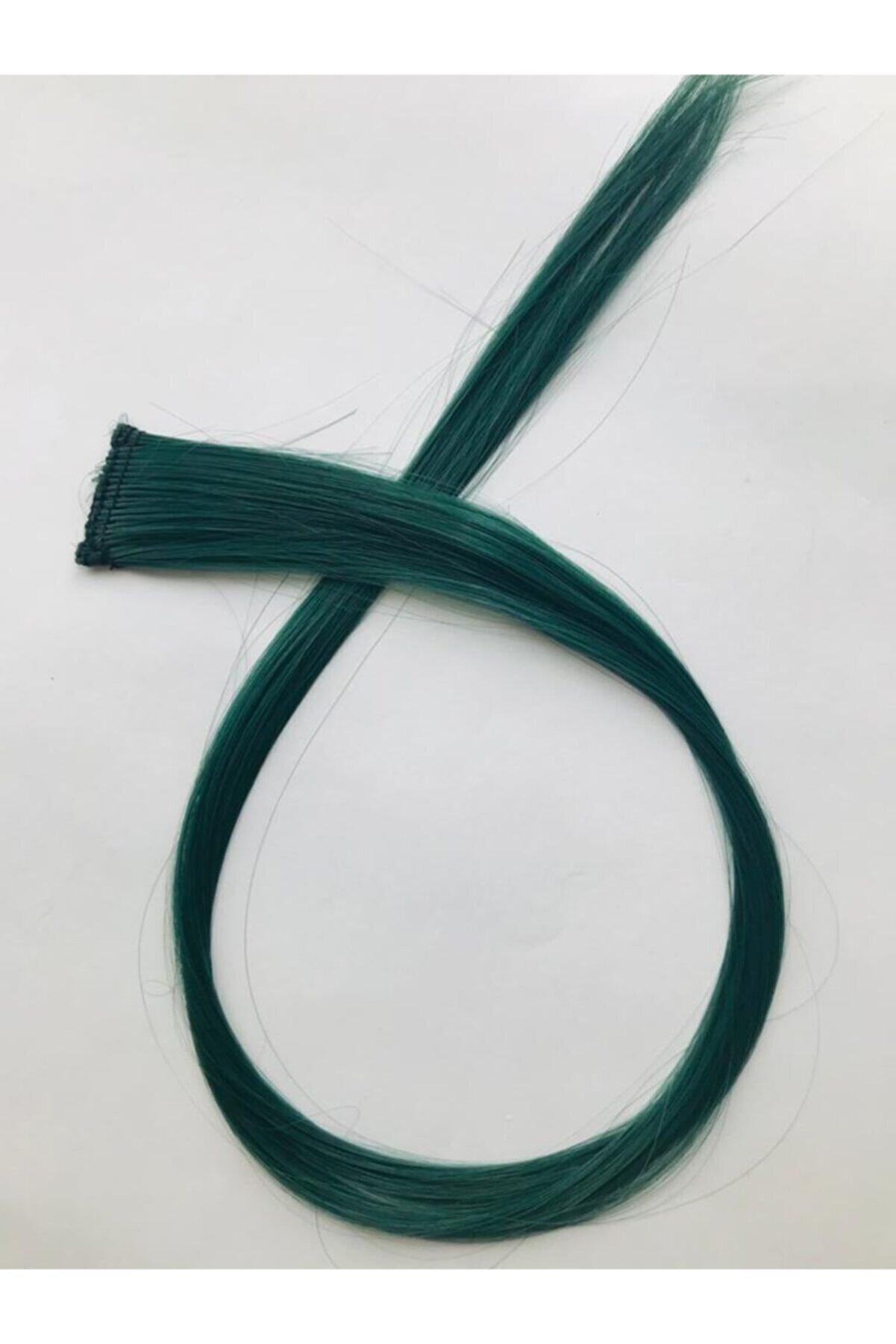 rüyam satış Renkli Sentetik Tekli Çıt Çıt Koyu Yeşil