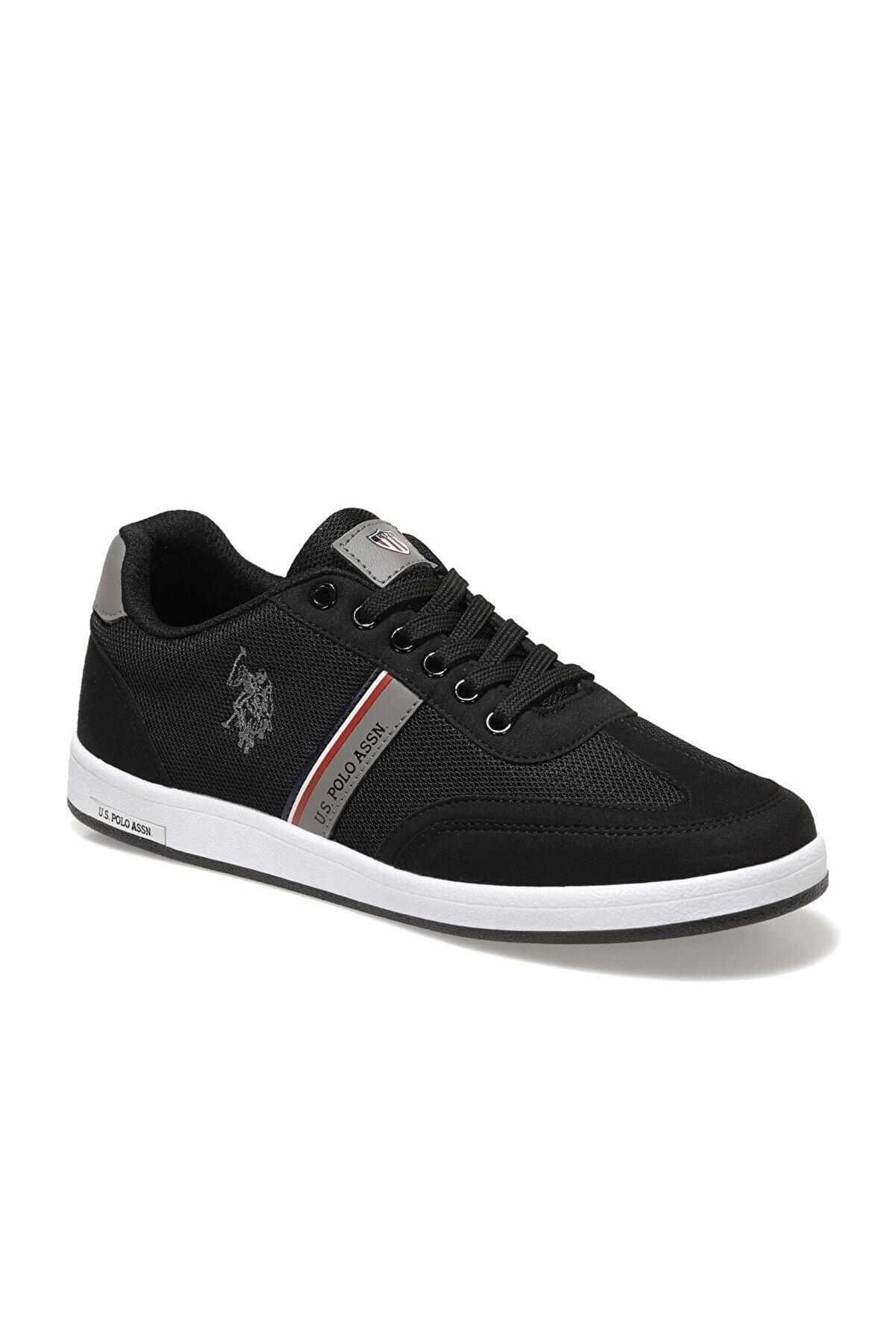 US Polo Assn KARES 1FX Siyah Erkek Sneaker Ayakkabı 100910454