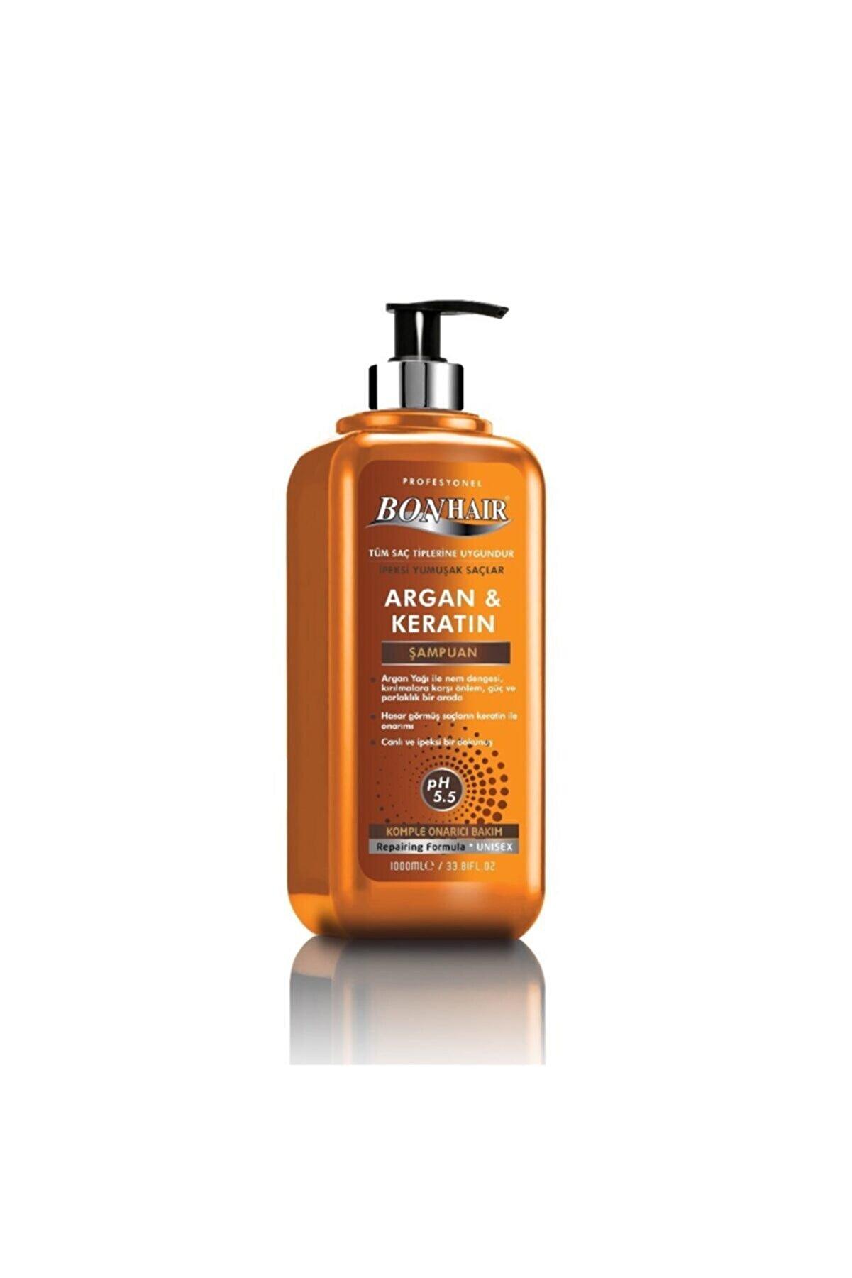 Bioflex Bonhair Şampuan Argan & Keratin 1000 Ml