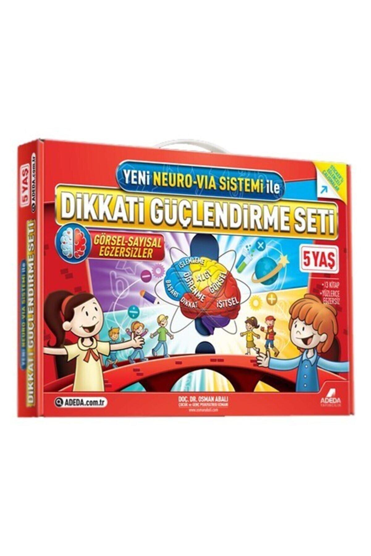 Adeda Yayınları Orıgınal Adeda Dikkati Güçlendirme Seti Anasınıfı 5 Yaş Neuro Via Osman Abalı