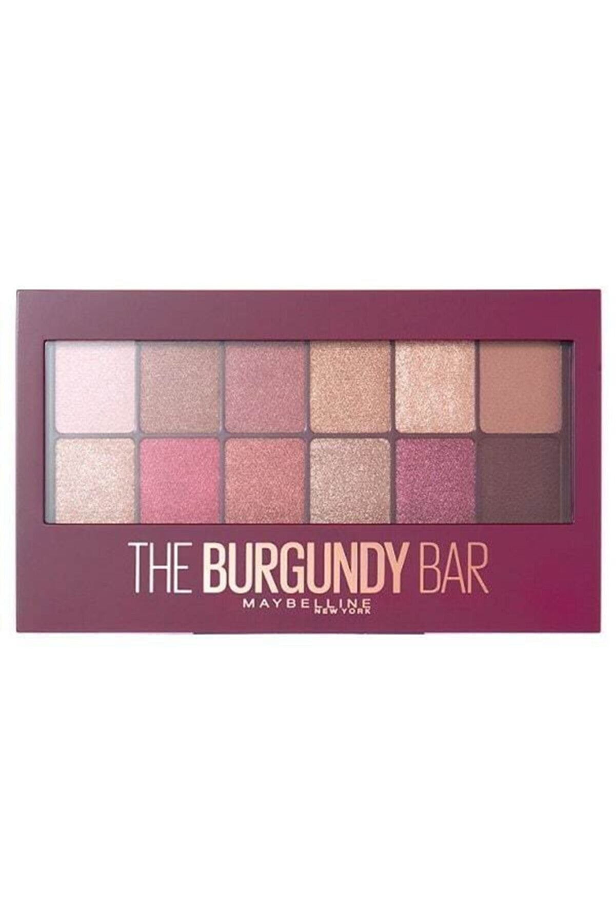 Maybelline New York Göz Farı Paleti - The Burgundy Eye Shadow Palette 3600531429911