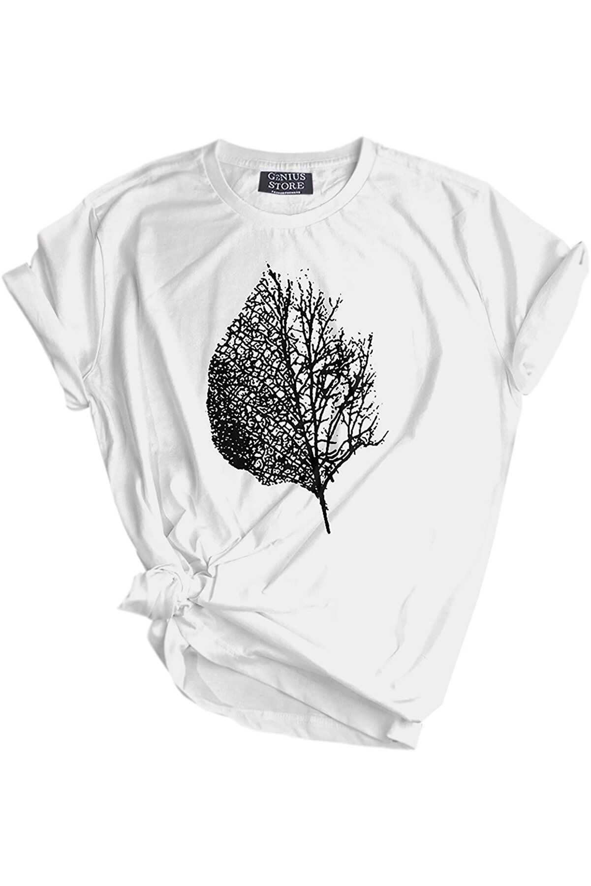 GENIUS Store Unisex Tişört Outdoor Baskılı T-shirt