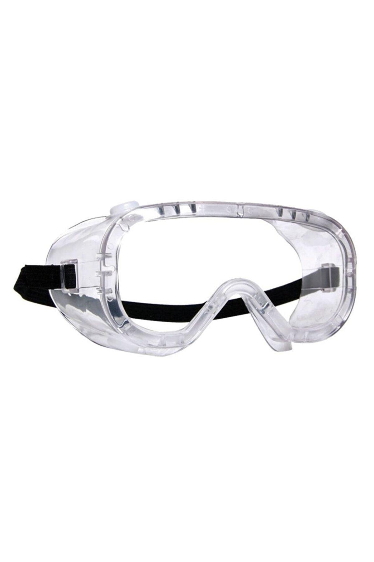 Retro Tam Kapalı Laboratuvar Koruyucu Gözlük