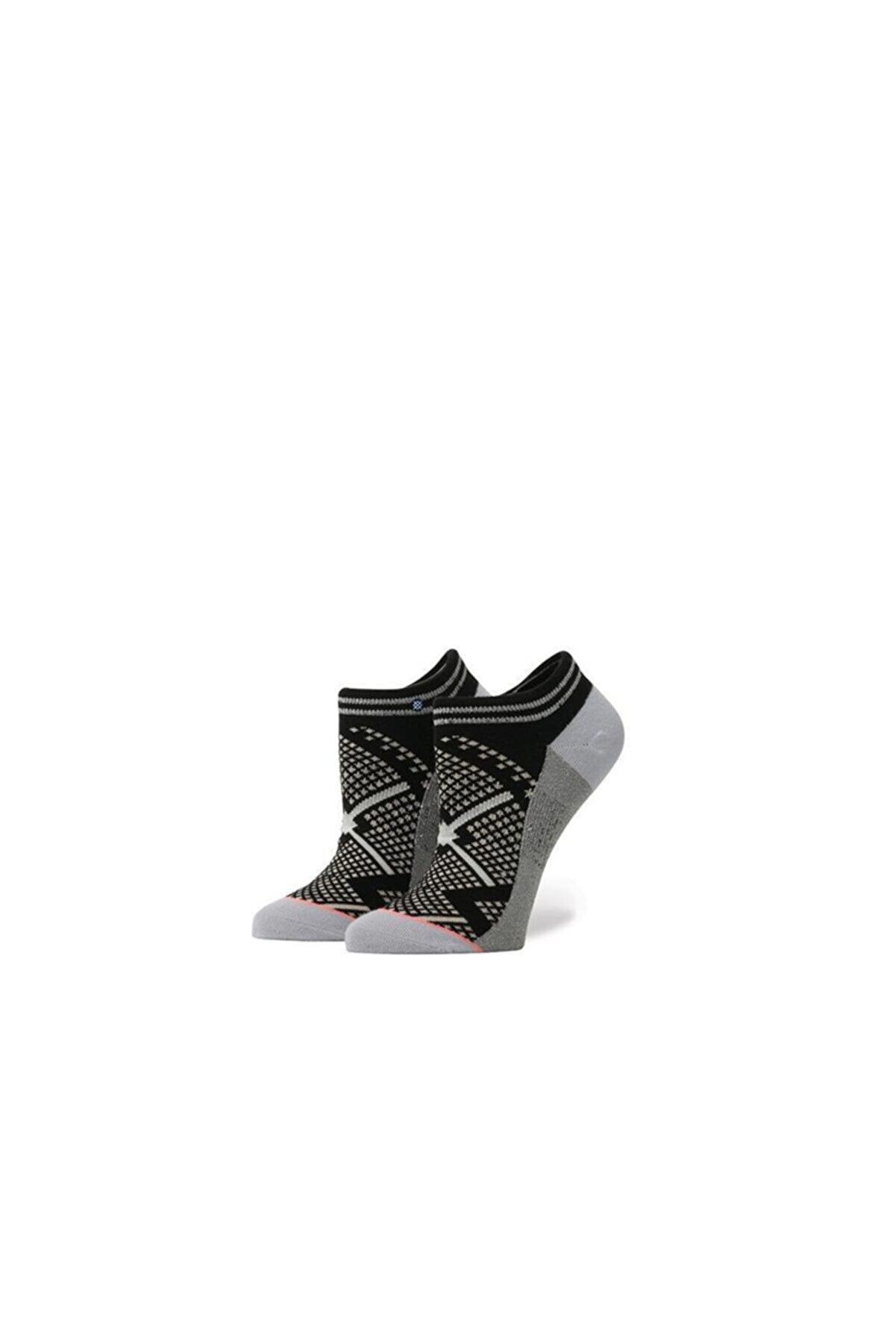 Stance Kadın Siyah Bit Map Black Çorap