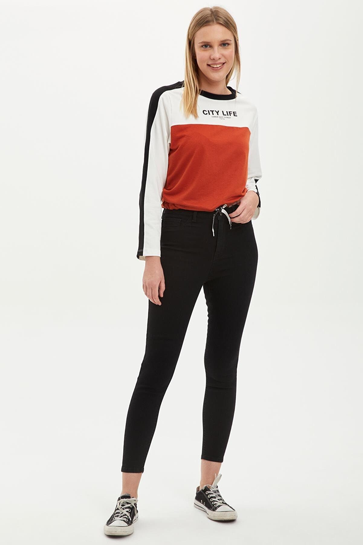 Defacto Anna Super Skinny Fit Yüksek Bel Jean Pantolon