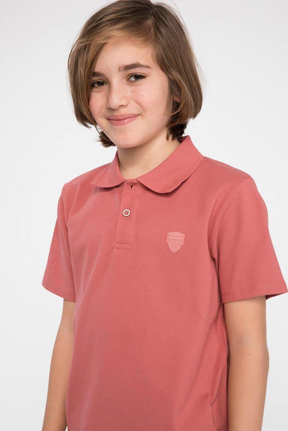 Defacto Erkek Çocuk Polo Yaka Kısa Kollu Tişört
