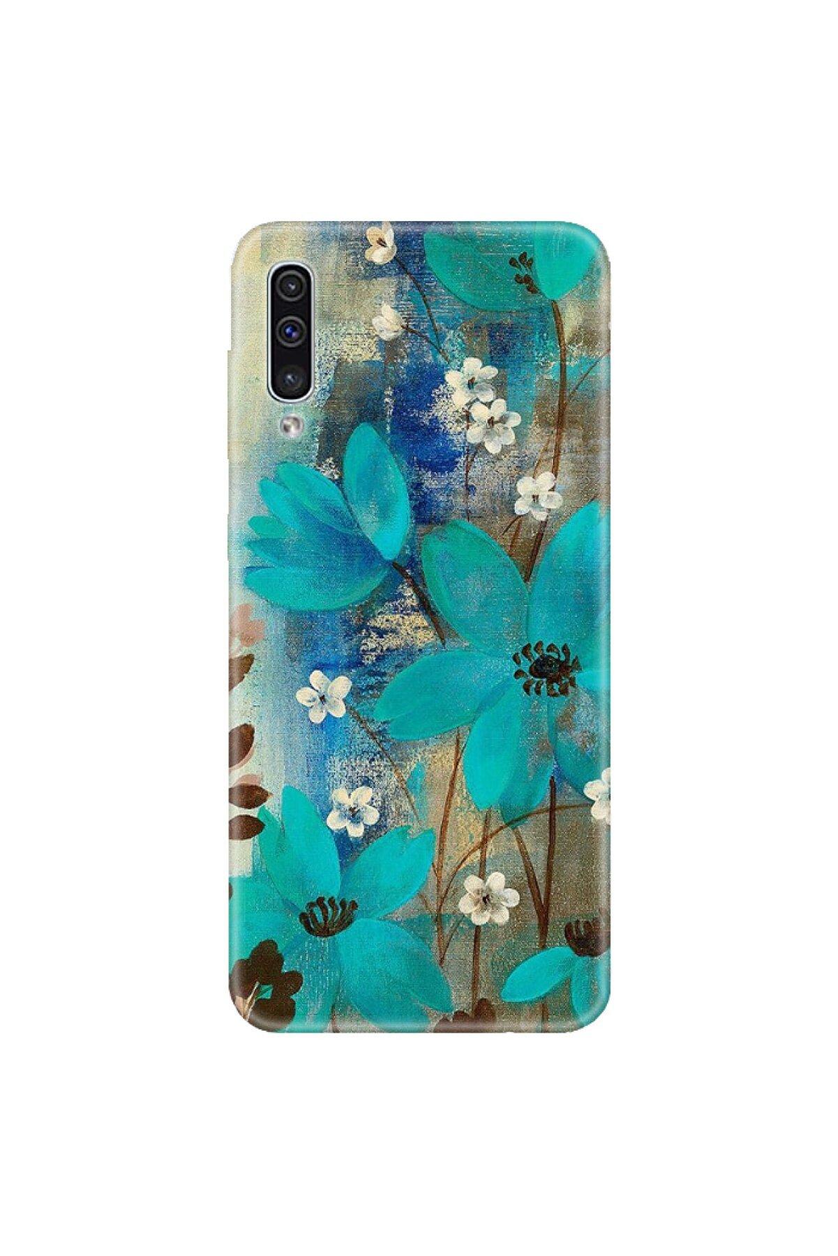 albatech Xiaomi Redmi Note 8 Kılıf Çiçek Desenli Kapak