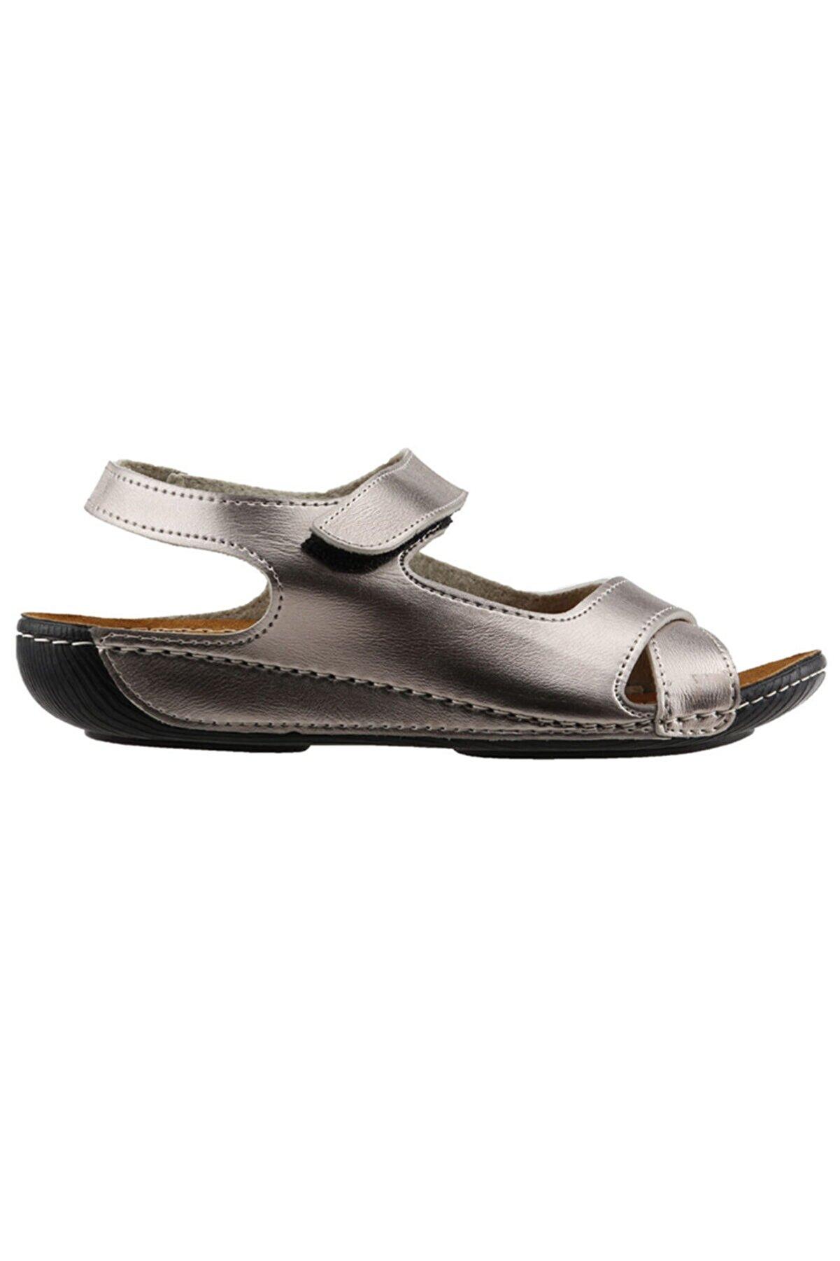 Muya Platin Kadın Sandalet 19YAYMU22273