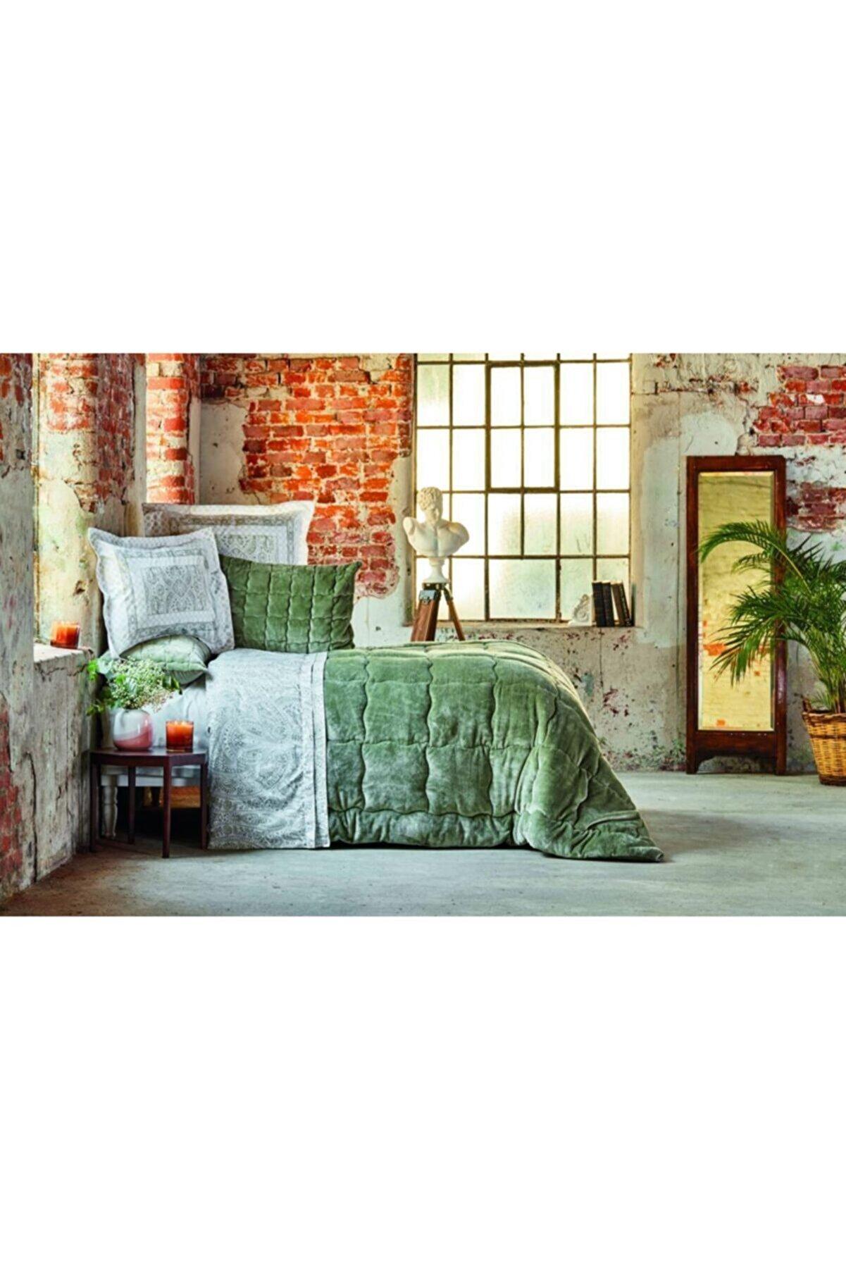 Karaca Home Olite Yeşil Çift Kişilik Soft Uyku Seti