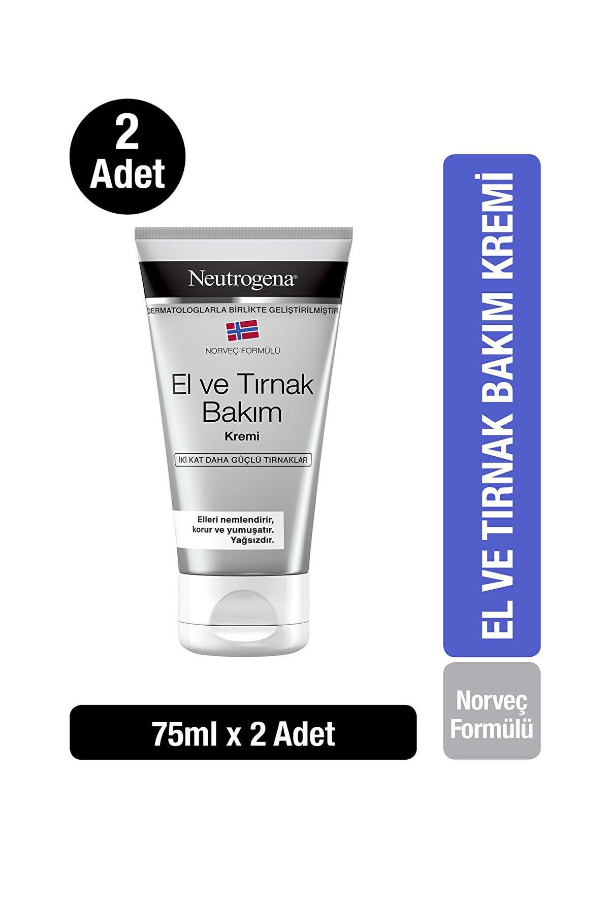 Neutrogena Norveç Formülü El & Tırnak Bakım Kremi 75 ml x2