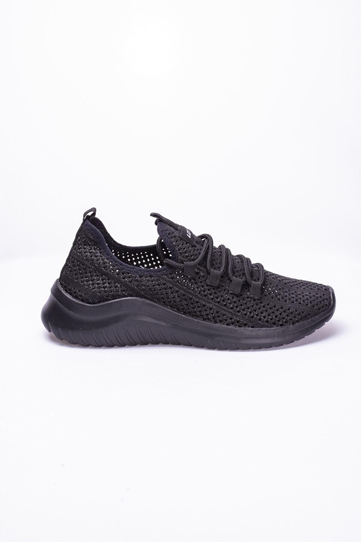 Lotto Erkek Siyah   Sneaker Label-t2555