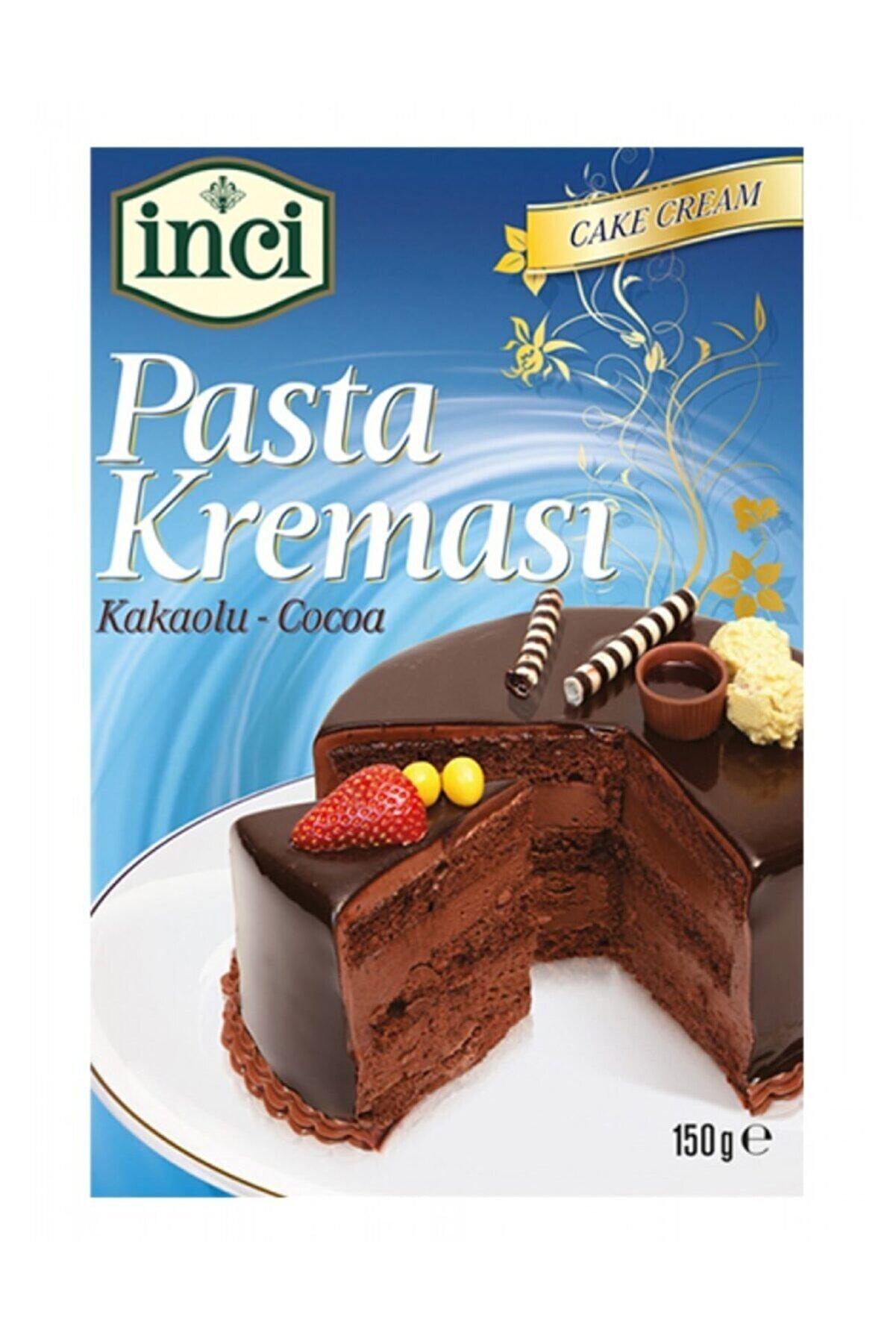 İnci Pasta Kreması Kakao Ve Vanilyalı 10 Adet