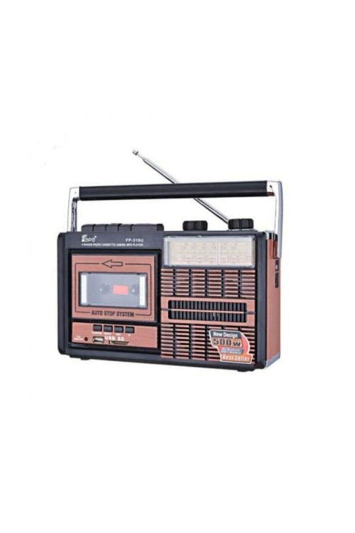 DXL Fp 319 Retro Usb Fm Radyo Kaset Çalar Fp319