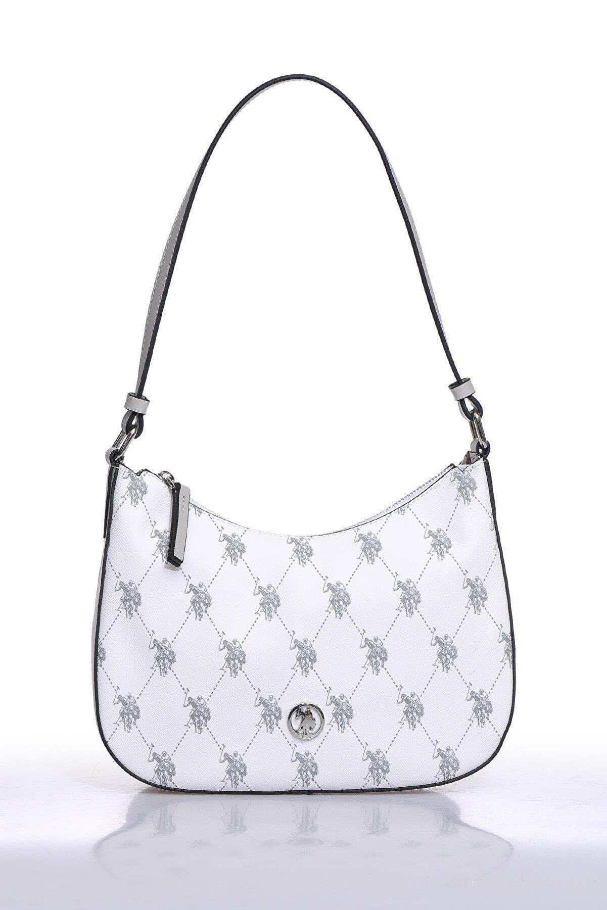 US Polo Assn Us8718 Beyaz Kadın Omuz Çantası