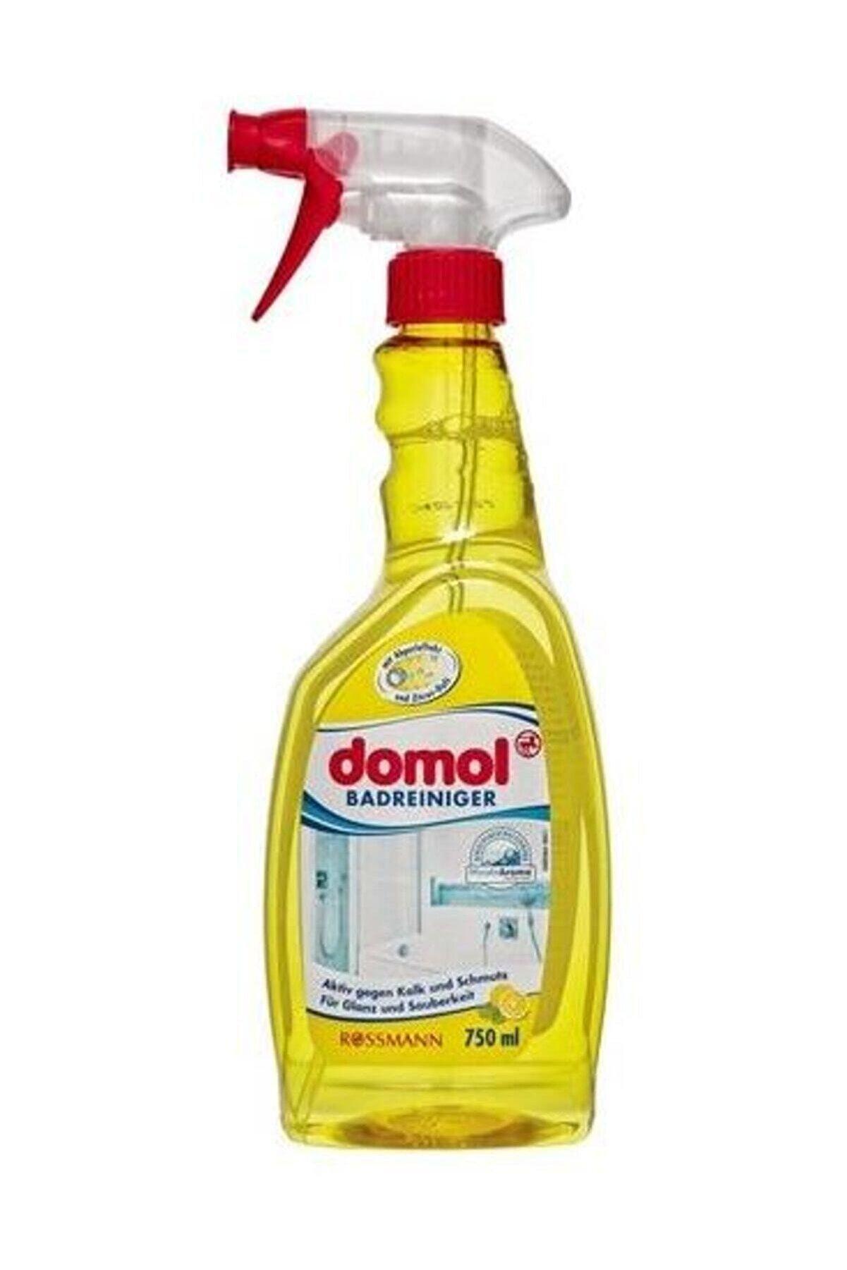 Domol Banyo Yüzey Temizleyici Kir Ve Kireç Çözücü Sprey Limon Kokulu 750 ml