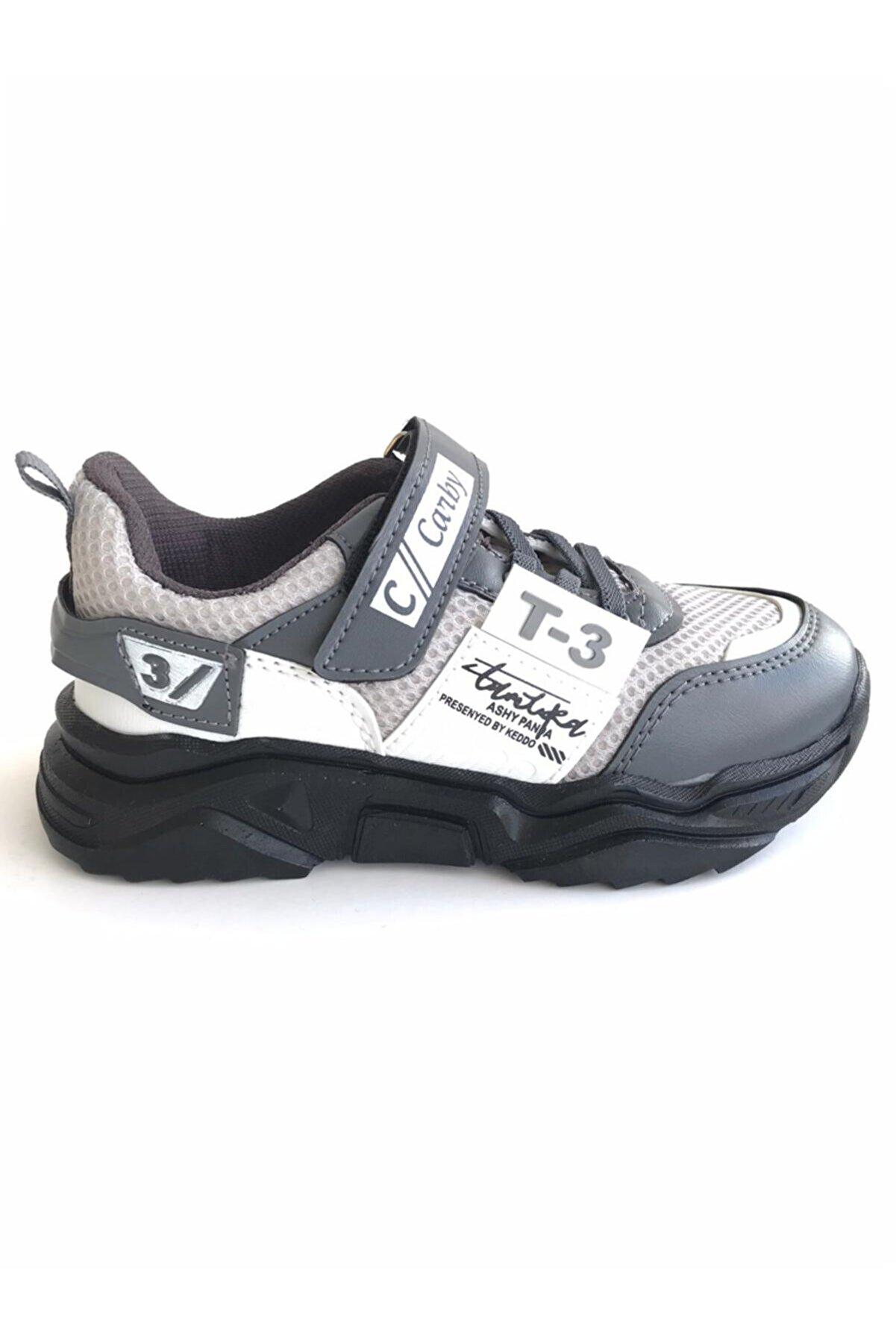 Carby T3 Çocuk Ayakkabı Gri