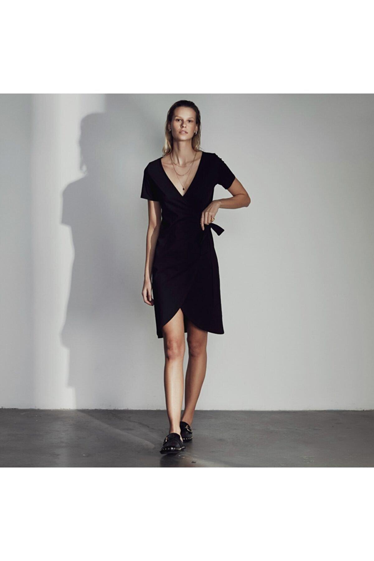 Mudo Anvelop Pamuk Midi Elbise