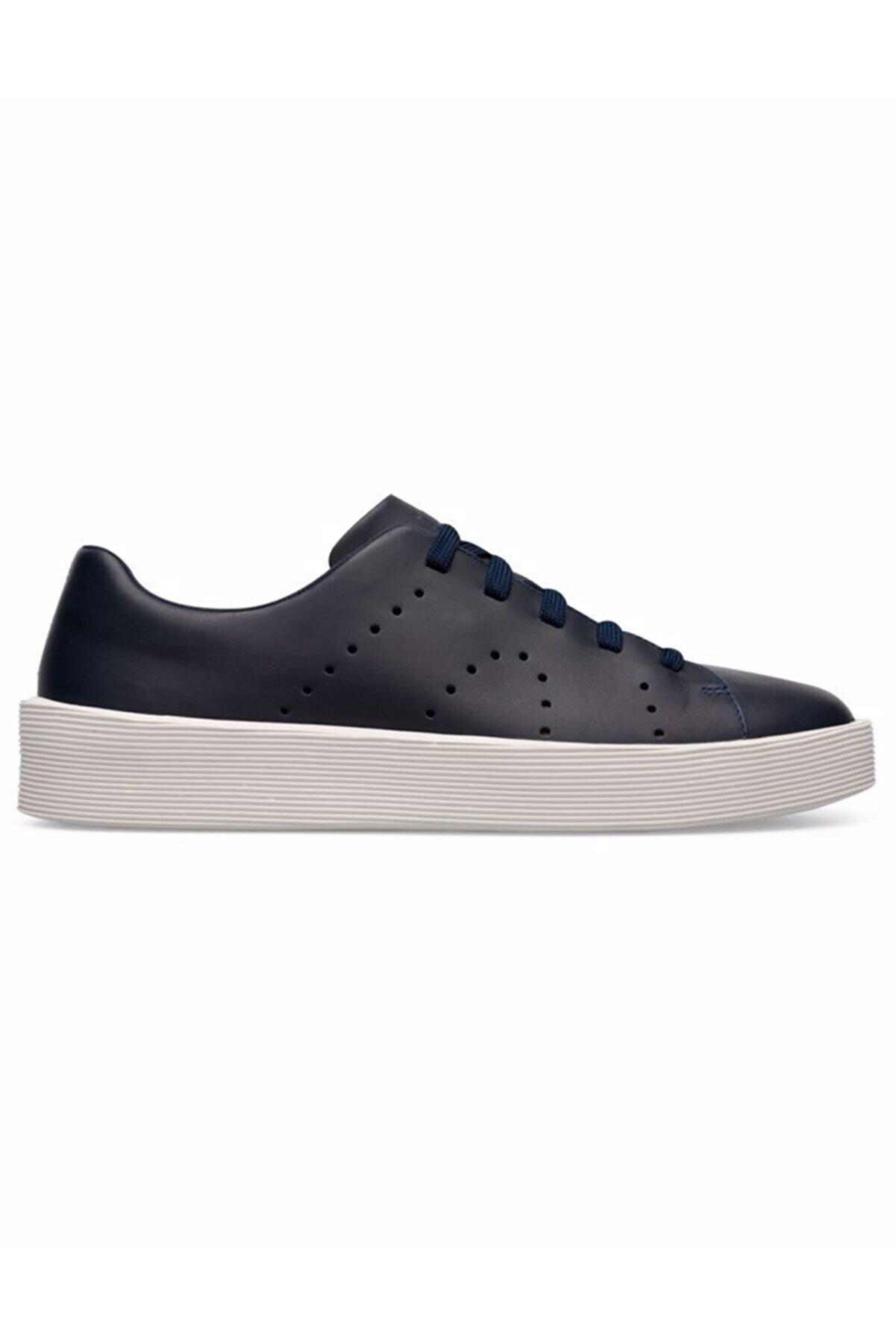 CAMPER Erkek Lacivert K100432-032 Courb Sneaker