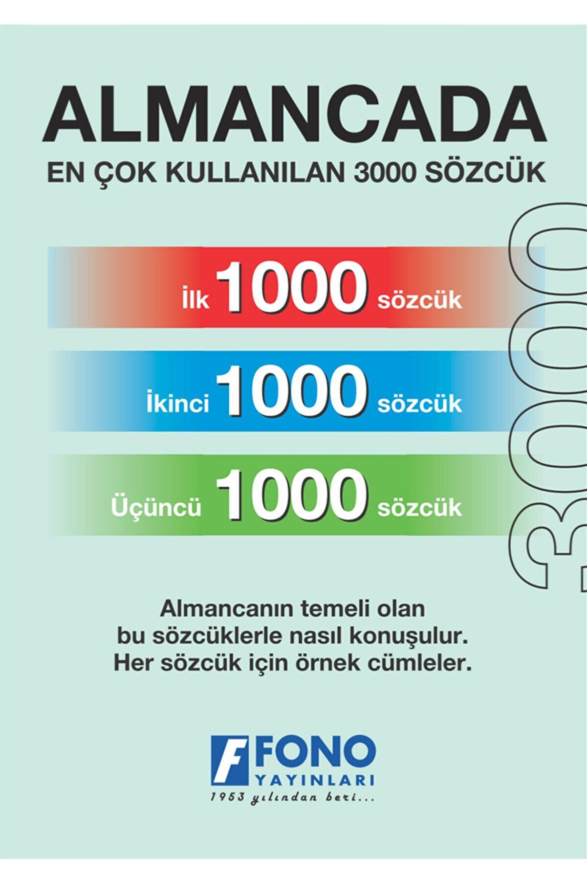 Fono Yayınları Almanca Ilk 3000 Sözcük