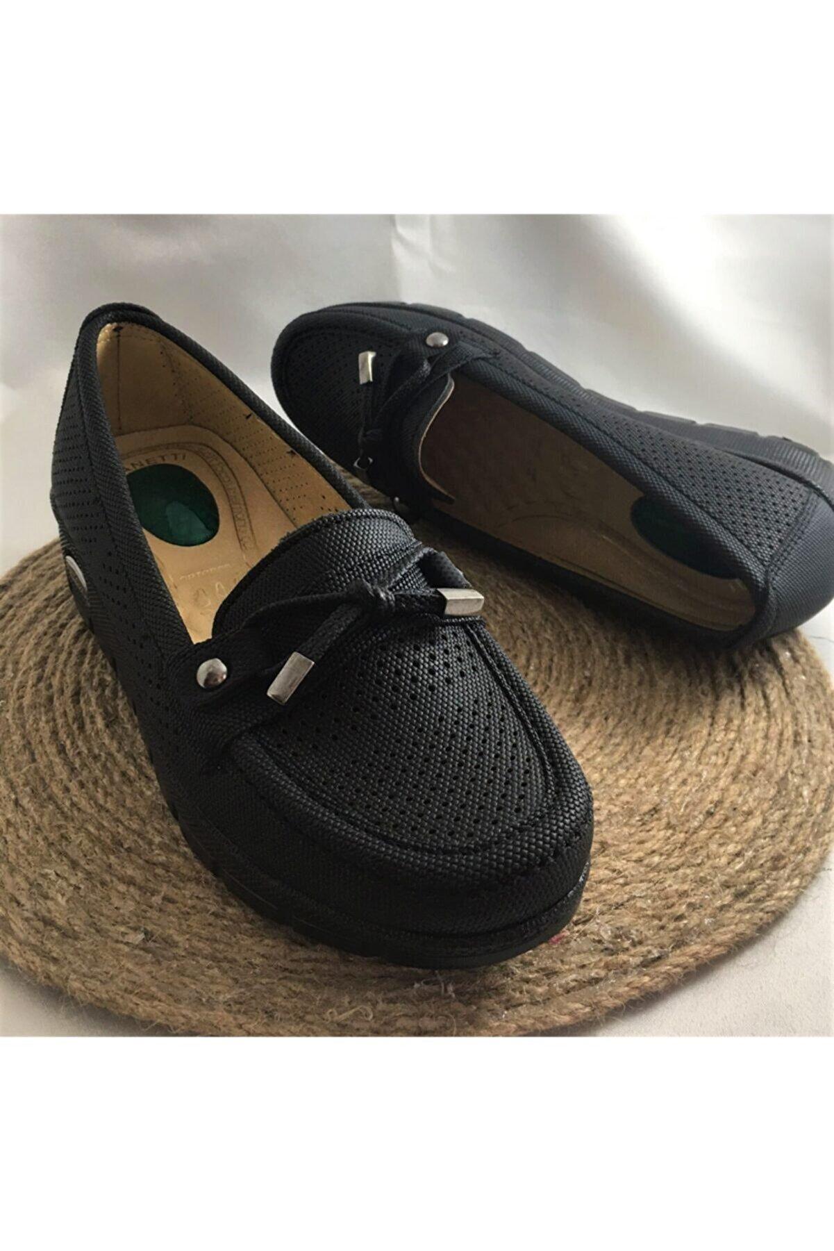 YILDIRIM AYAKKABICILIK Yumuşak Deri Topuk Dikeni Önleyici Jel Sisteml Dolgu Taban I Ortopedik Anne Ayakkabısı