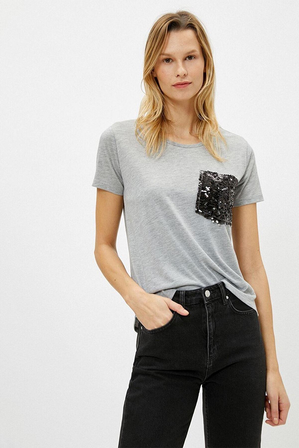 Koton 1yak13156ek Kadın T-shirt