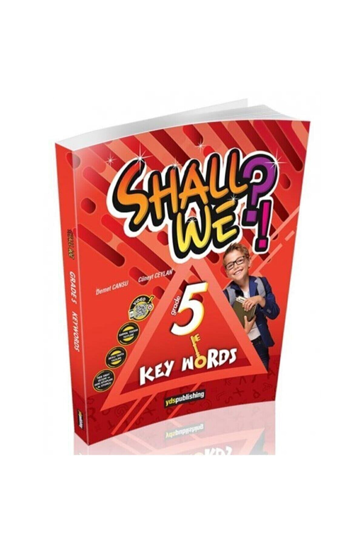 YDS Publishing Shall We?! Grade 5 Key Words Vocabulary Book