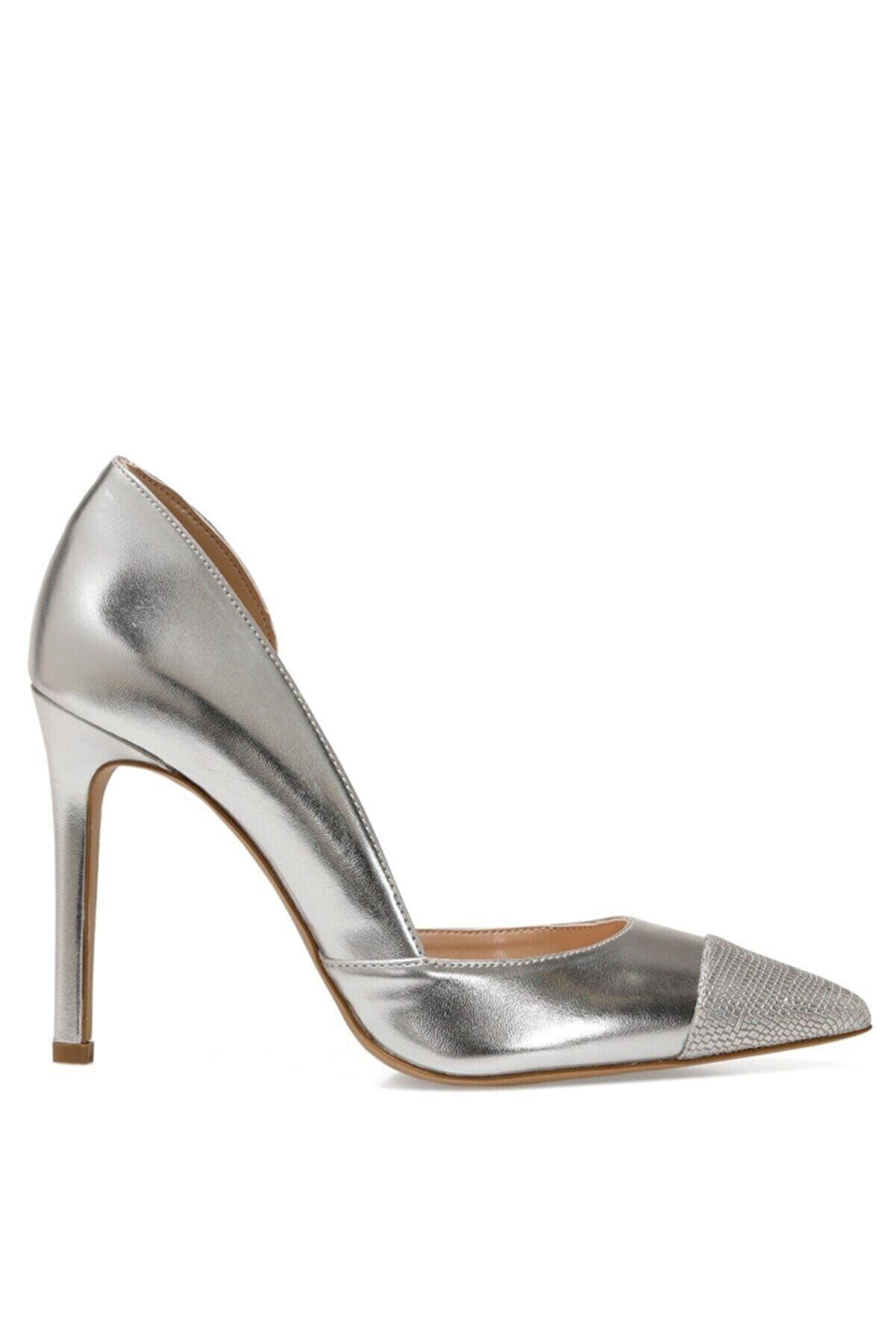 Nine West MERNANI 1FX Gümüş Kadın Gova Ayakkabı 101012992
