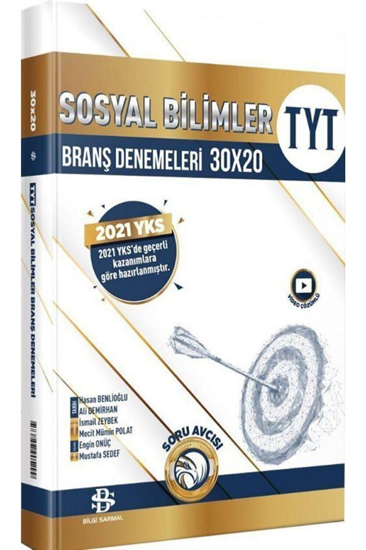 Bilgi Sarmal Tyt Sosyal 30x20 Branş Denemeleri