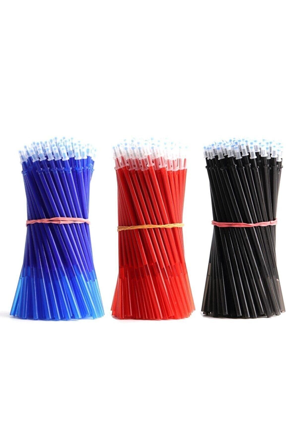 armex Uçan Kalem 2 Adet Kalem 50 Adet Kalem Içi Karışık 3 Renk Iğne Uçlu 0.5 Mm