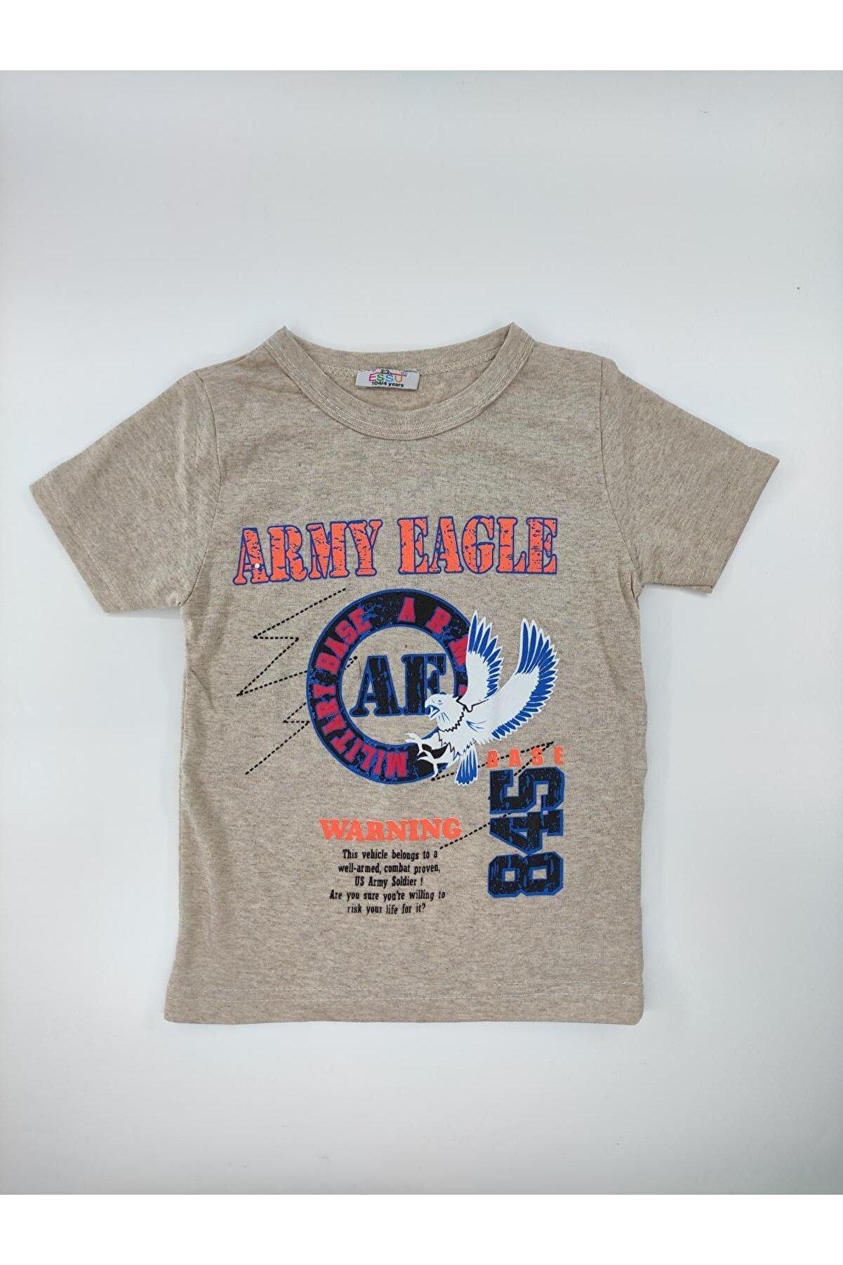 giyinsen 1552786 Essu 220915 Army Eagle 845 Baskılı Tshirt 2/10 Yaş