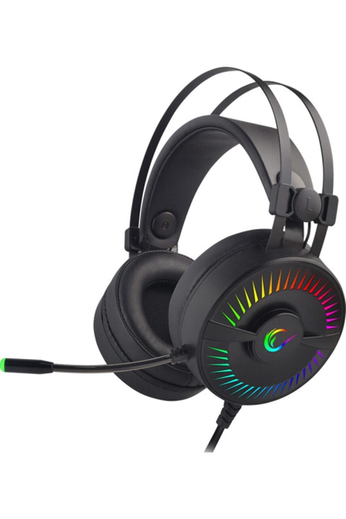 Rampage Rm-2019g X-tıtan Rgb 7.1 Surround Usb Mikrofonlu Oyuncu Kulaklığı Profesyonel Kulaklık
