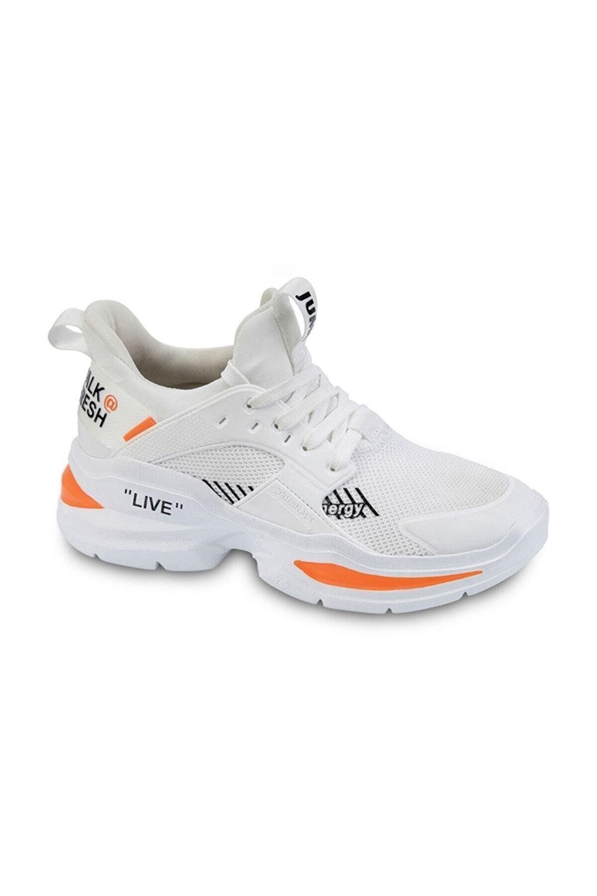 Jump Kadın Beyaz Spor Ayakkabı 24685