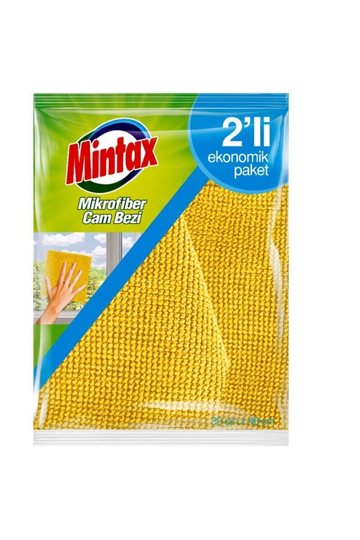 Mintax Mikrofiber Cam Bezi 2'li