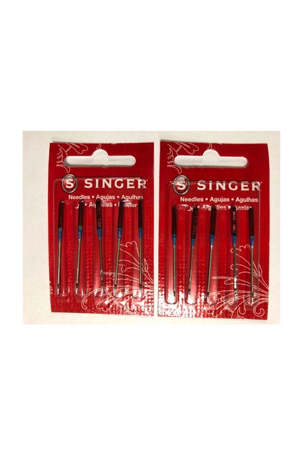 SINGER Sınger 2 Paket 14 Numara Dikiş Makinası Iğnesi (Standart Dikiş)
