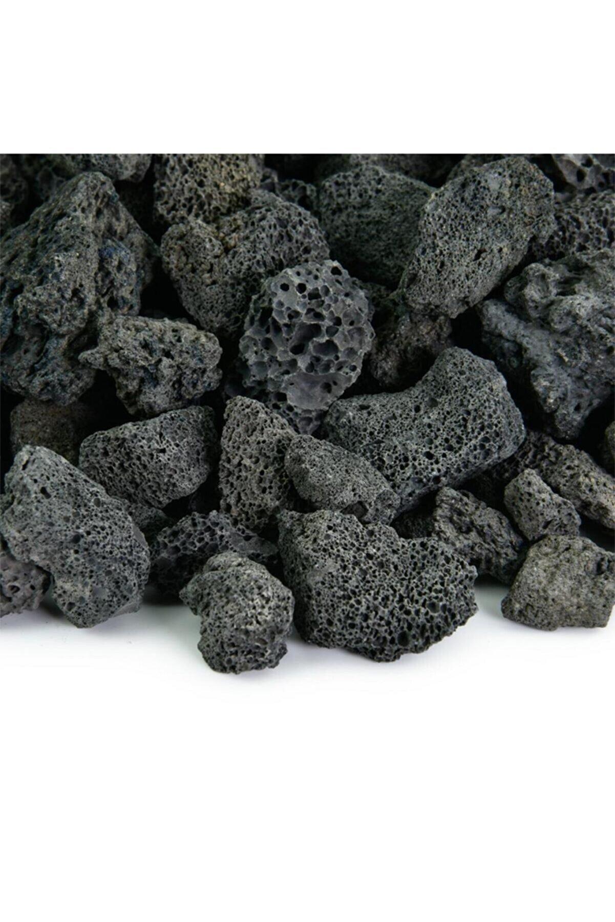 Doğalsan Tarım Siyah Pomza Taşı 1 3 cm 3 lt