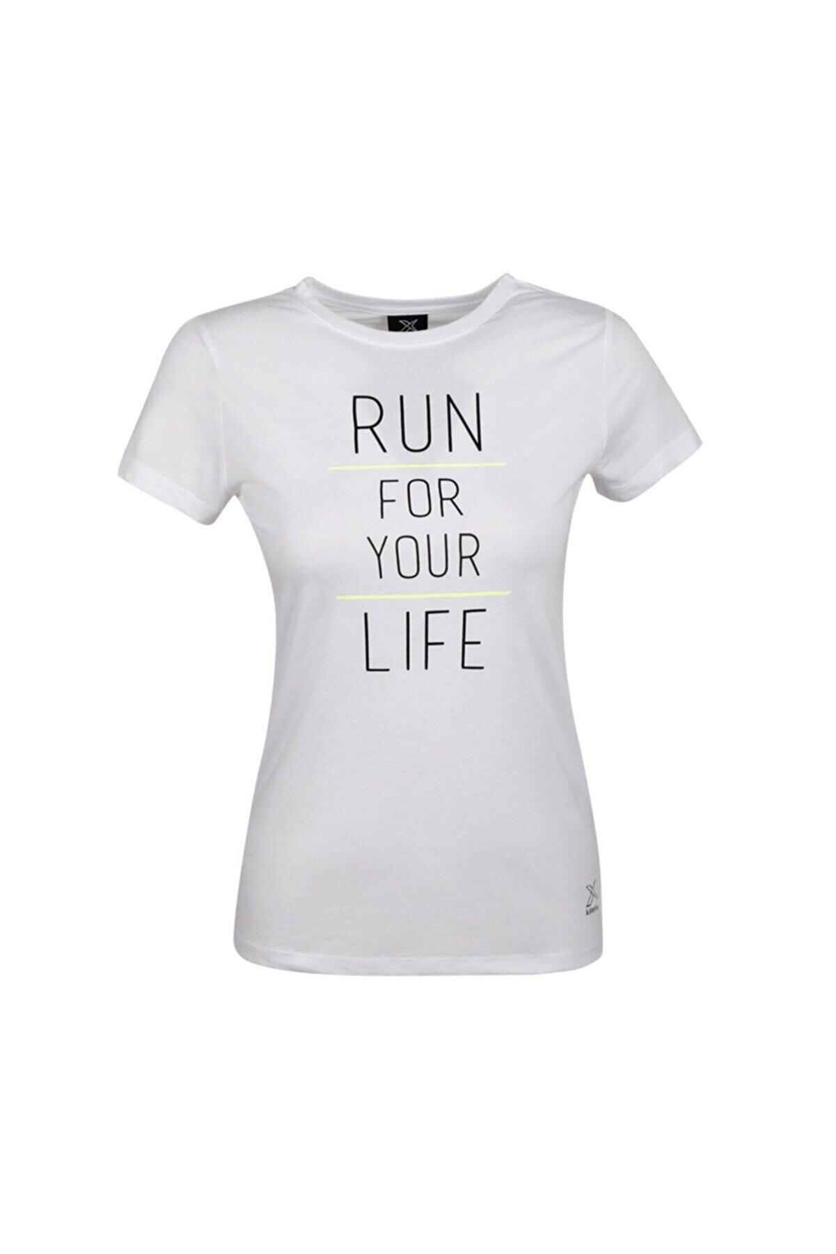 Kinetix Kadın Beyaz T-shirt