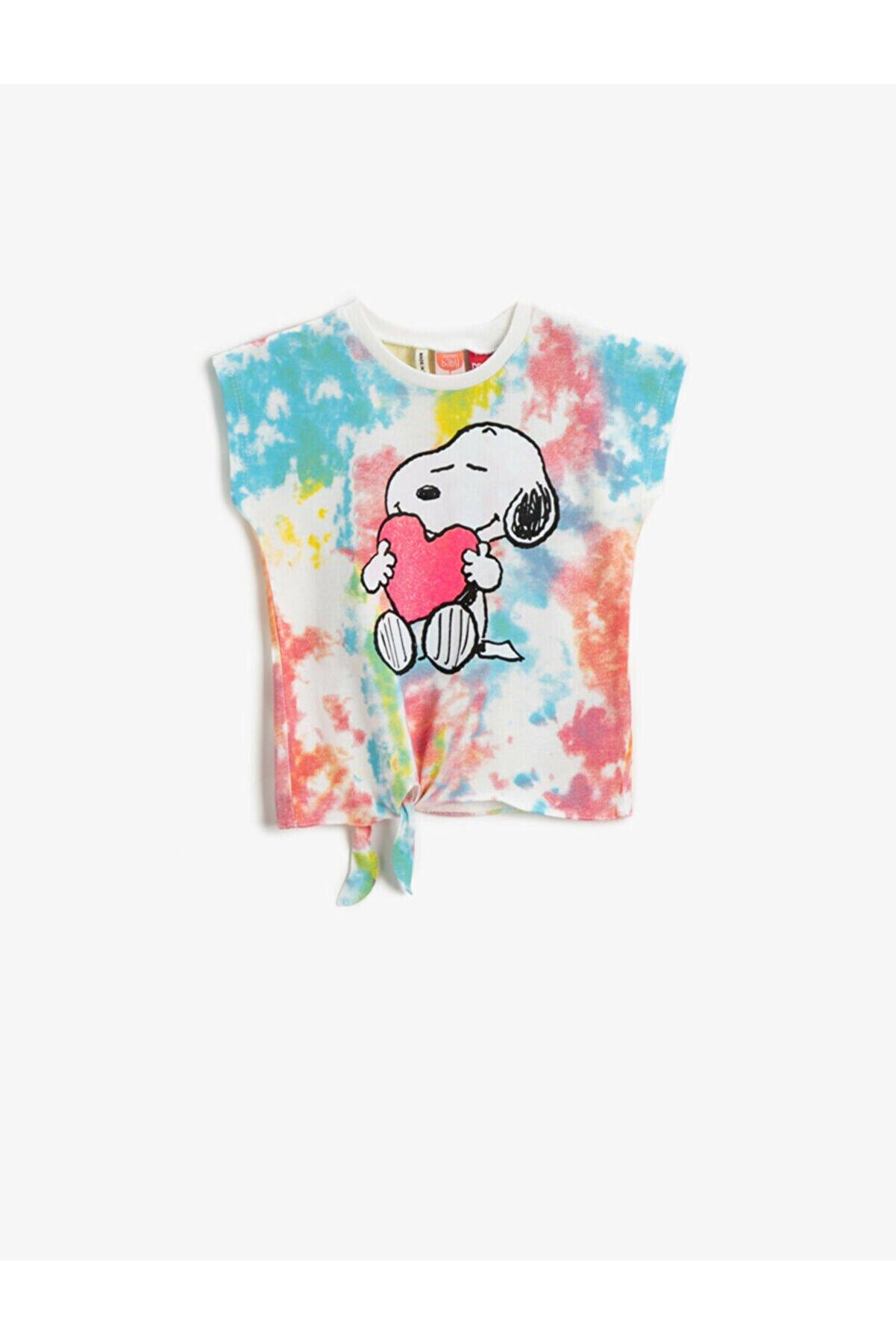 Koton Kız Çocuk Snoopy Tisört