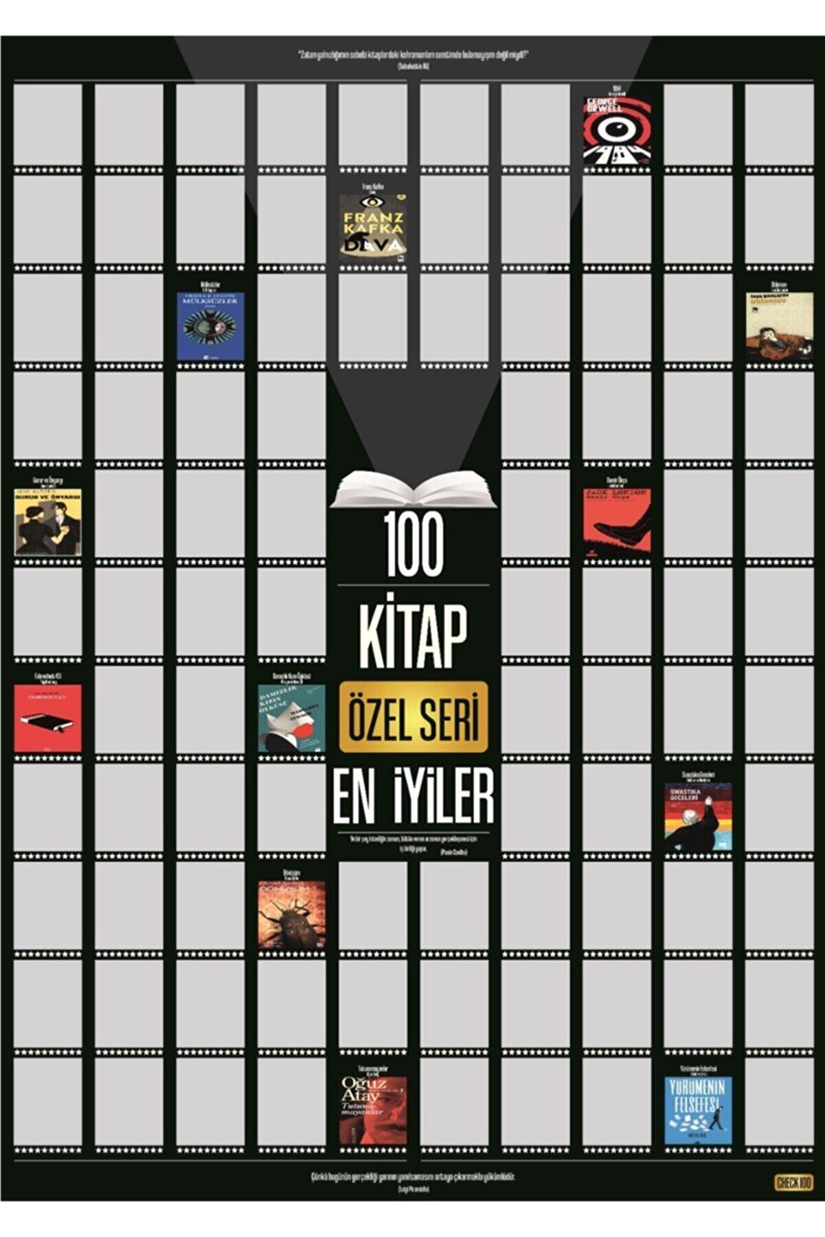 Check100 Özel Seri Kazıkazan 100 Kitap Posteri