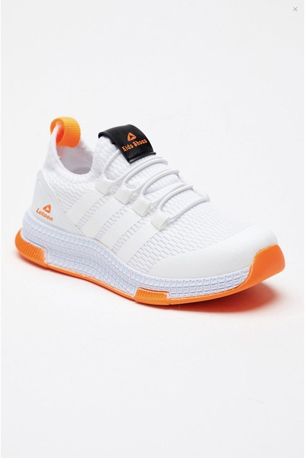 LETOON Unisex Çocuk Beyaz Sneaker