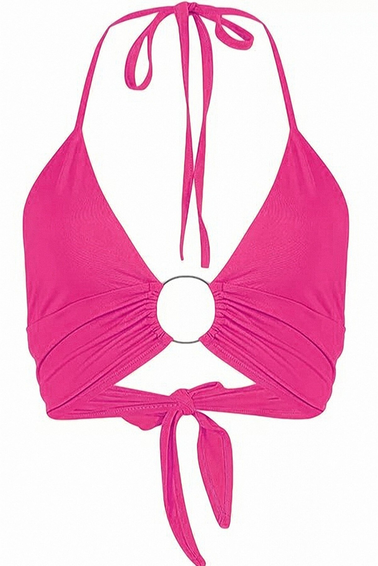 Transacoustic Pembe Halkalı Tulumlu Bikini Üstü