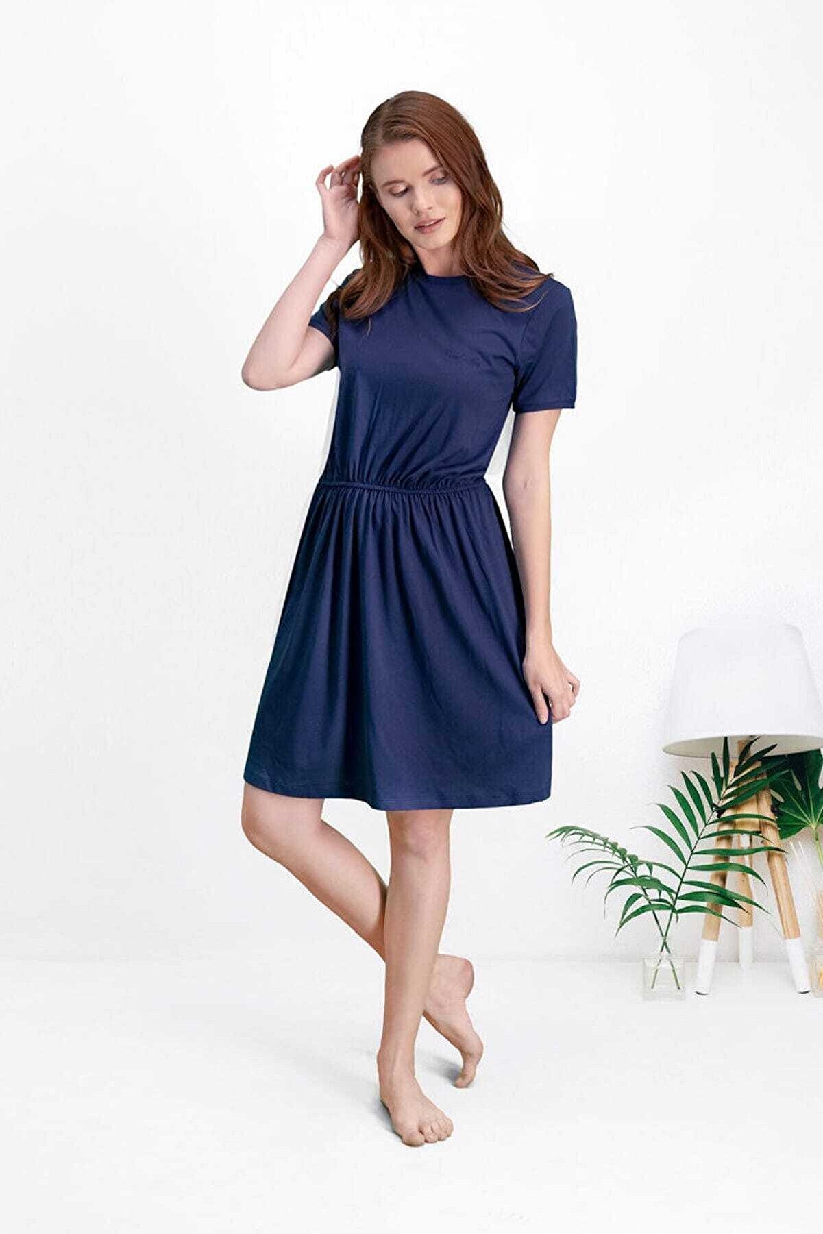 Pierre Cardin Kadın Lacivert Elbise