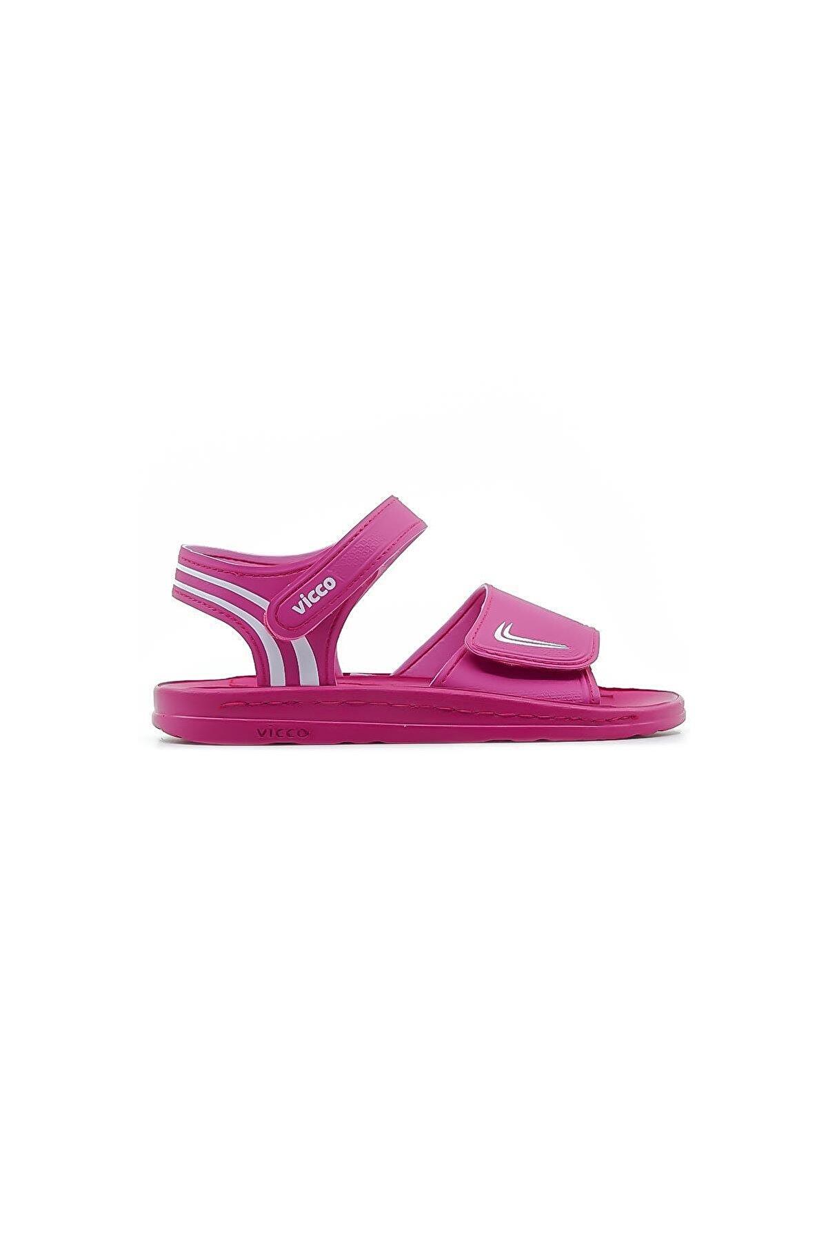 Vicco Kız Çocuk Pembe Sandalet
