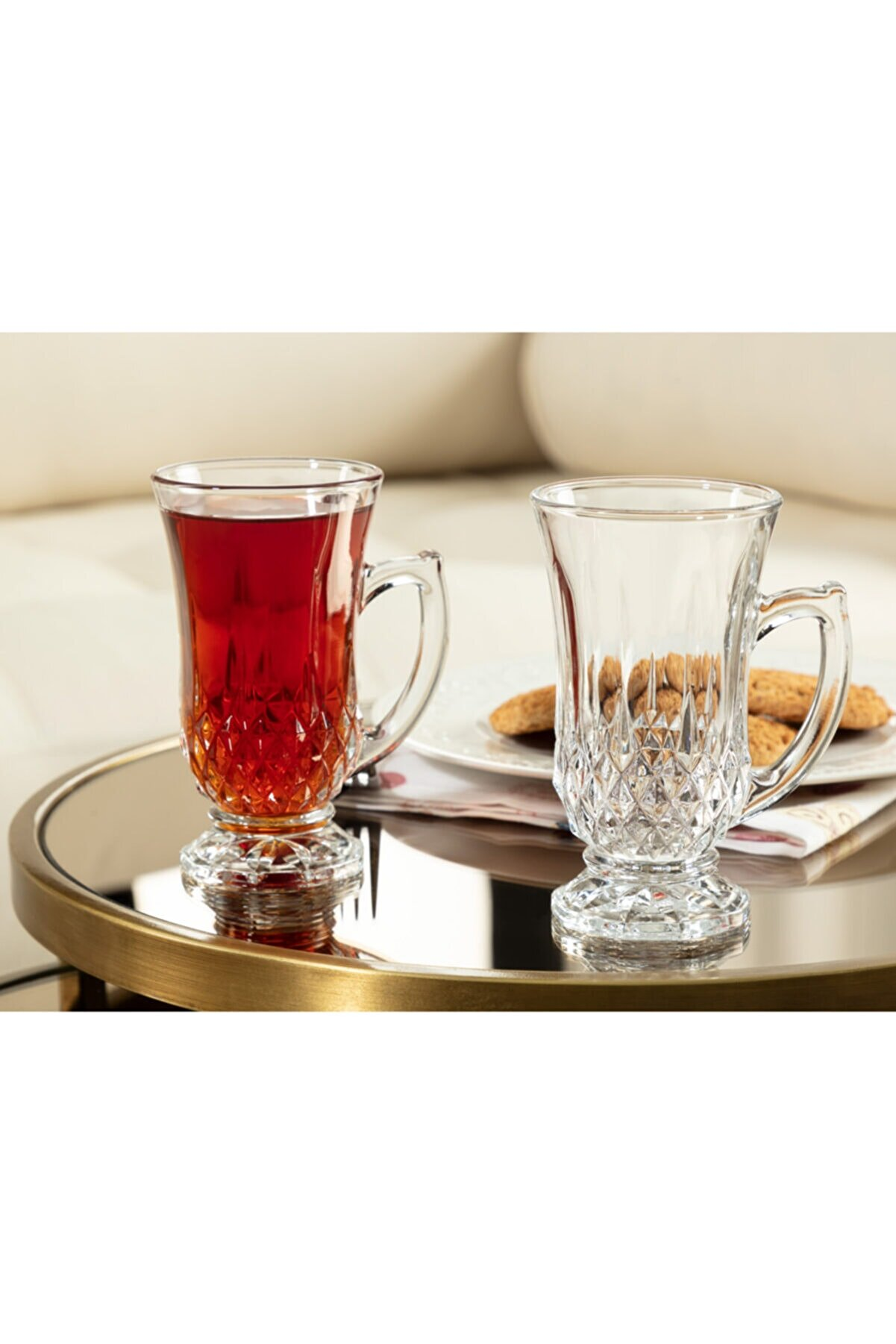 Madame Coco Audrey 4'lü Çay Fincanı Seti