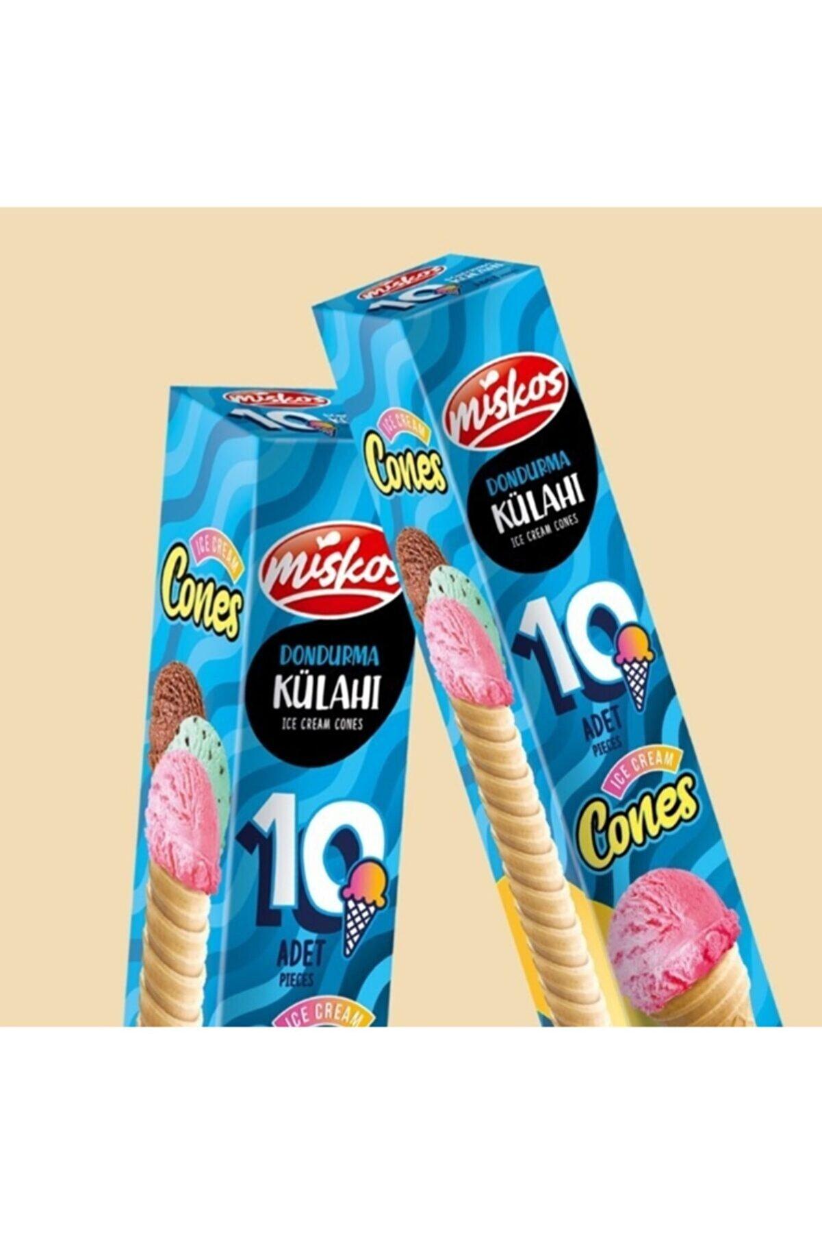 Miskos Dondurma Külah'ı 10 Adet