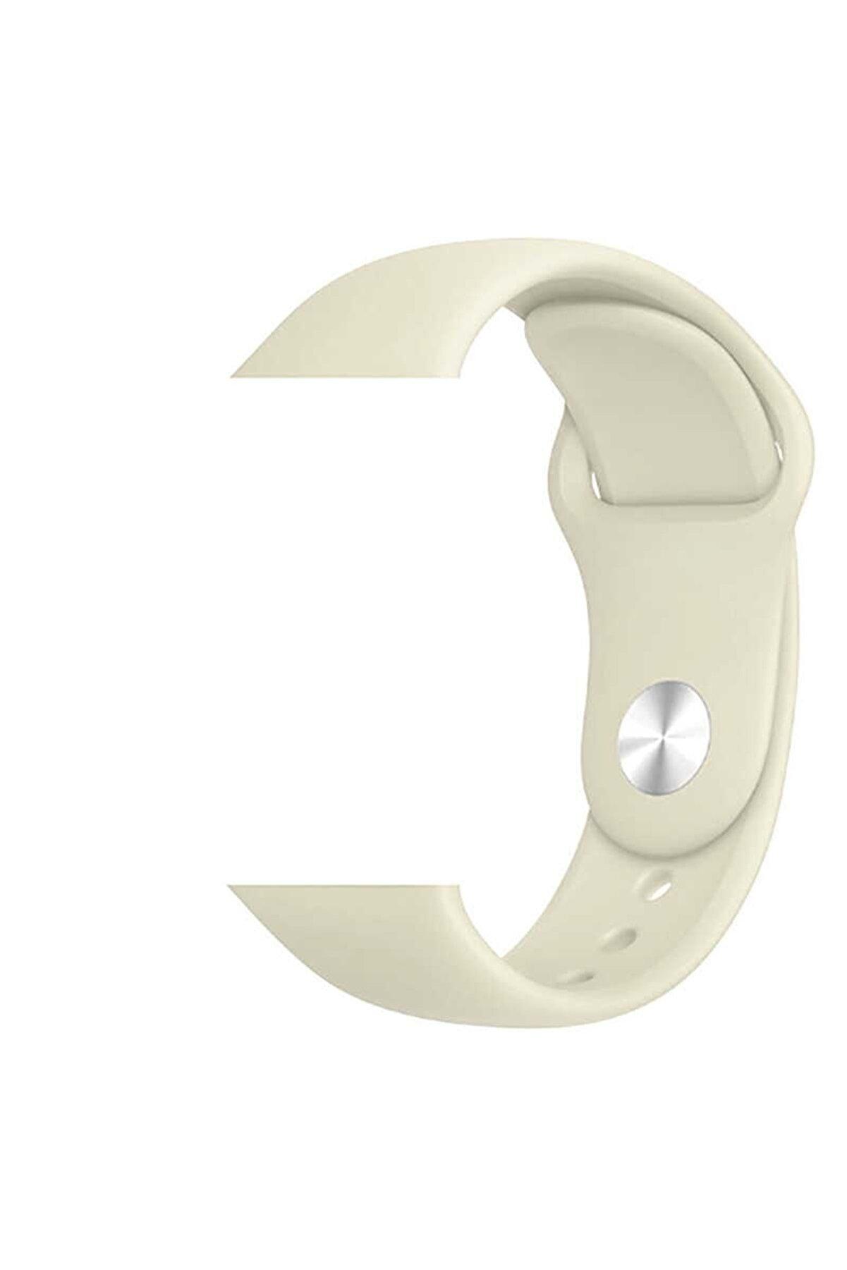 Apple Watch Silikon Kordon Kayış 1   2   3   4   5 - 38mm 40mm